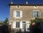 2 Bedroom Village House With Sunny Courtyard. Near To Civray