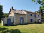 Near St. Savin: farmhouse with swimming pool on 1 ha of land