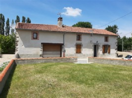 Renovated Country House For Sale Near Lathus St Remy in the Vienne