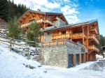 A ski-in penthouse apartment, 4 bedrooms, 3 bathrooms, in central Morzine.