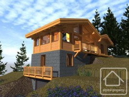 New build 4 bedroom chalet in sought after hamlet of Lavancher.