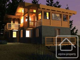 New build 4 bedroom chalet in sought after hamlet of Lavancher.
