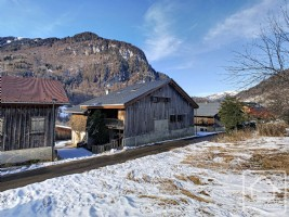 A Savoyard farmhouse with great potential, located in the hamlet of Salvagny, Sixt-Fer-à-Cheval.