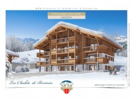 A brand new 2 bed freehold apartment on the ground floor, by MGM in Samoens.