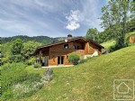 A charming 4 bedroom chalet with uninterrupted south west views of the valley.