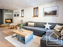 Luxury 4 bedroom townhouse within walking distance of Grands Montets with sauna, jacuzzi