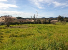 Constructible plot of 927 m² with lovely views.