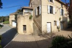 Pretty village house in very good condition with small terrace, views and non attached garden.
