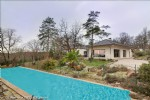 Modern villa - view - calm - light - swimming pool on grounds of 7,100 m2