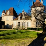 Beautiful chateau dates back to the 14th century.