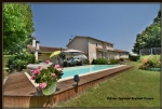 Gardonne traditional house of 200 m2 with 4 bedrooms, swimming pool and double garage