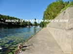 Family property - Banks of the Seine with private quay