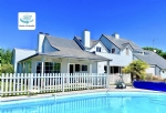 Californian villa of 300 m2 with swimming pool on Golf de la Baule