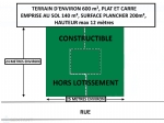 Land Constructible In 4 Faces App. 600 M².