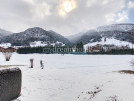 Studio cabin facing south with parking in Praz sur Arly (74120)