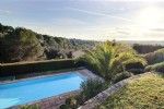 Wmn3593894, Semi-Detached House With Seaview, Tennis, Pool And Walking Distance To Commerces - Biot