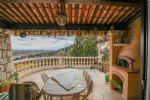Wmn3708413, Provencal Family House With Sea View - St Laurent Du Var