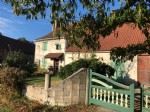 Lovely Village House with garage and garden