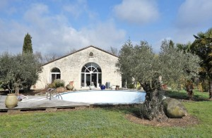 Water mill Charente, pool, outbuildings
