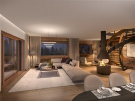 For Sale : 2 bedrooms Ski Apartment in MEGEVE.