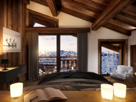 For Sale : 3 bedrooms Ski Apartment in MEGEVE.