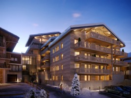 For Sale : 4 bedrooms Ski Apartment in CHATEL.