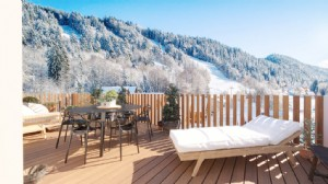 For Sale : 4 bedrooms Ski Apartment in LES CARROZ.