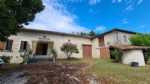 South Charente character country house to renovate. Outbuildings. Views