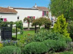 Aude. Renovated 3/4-bedroom village property with gite, mountain views, gardens, pool