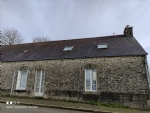 Croisty area (56), one bedroom village house with attic to convert