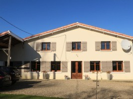A well renovated farmhouse with equestrian facilities and longreaching