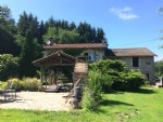 5BR house, barn & woodland in a rural setting