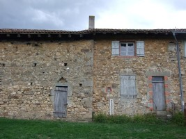 Typical small Limousin farm house