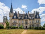 We are proud to offer half of the chateau (the left-wing with 8 bedrooms and 5 bathrooms on 3 f