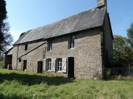 Many possibilities for this detached stone house with adjoining outbuilding, on the edge of sma