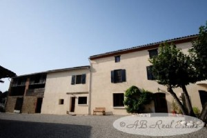 Spacious Farmhouse 19th Century, 5 bedrooms, with 3 bedroomed gite, 403m²,  pool, stables,