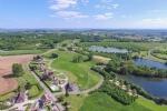 Nr Hautefort (24) - Périgord farmhouse with heated pool on a fabulous golf 'domaine'