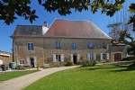 Pressac (86) - Beautiful manoir with heated pool, large barn set in 4 acres of land