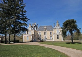 Les Forges (79) Luxury 1 bedroom apartment in a chateau with pool shared grounds of 8 hectares