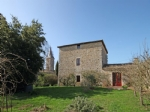 Lusseray (79) - Detached ancient C14th Priory with 2 bedrooms and superb walled garden of 2 898m2