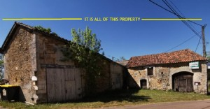 In the Dordogne, large detached property with garden near Brantôme to restore.