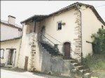 Detached characterful house to restore in superb village in the Charente just 25,000 euros.