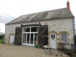 Detached 2-bedroom barn conversion with large garden (4564m2)