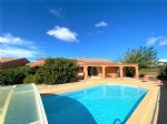 *Beautiful Villa with a large garden and swimming pool .