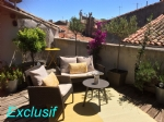 *Beautiful and tasteful house in Pezenas with gorgeous roof terrace