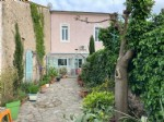 *Typical winegrowers house, garage and garden in lovely village