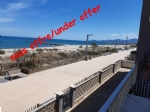 Lovely beach front, first floor 1 bedroom apartment, in good condition