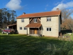 Detached house to finish with 8 hectares of fields