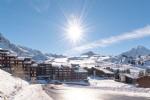Ski in/ski out Apartment studio Belle Plagne - Paradiski