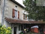 Village house with garden